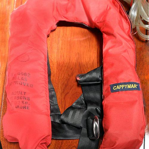 Elementos de seguridad náutica - Chaleco salvavidas